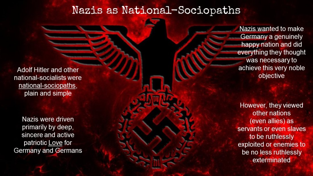 Nazis as National-Sociopaths