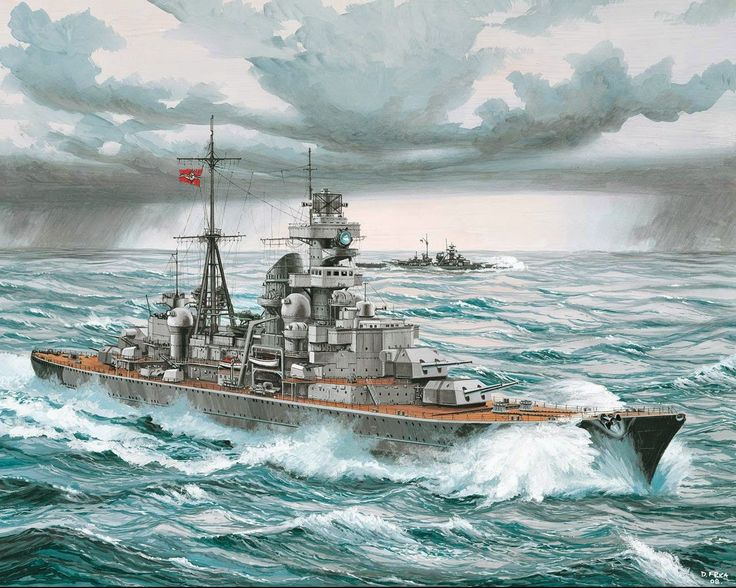 German heavy cruiser Prince Eugen