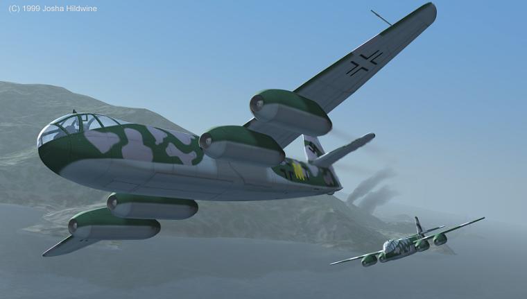 Heinkel He 343 Bomber