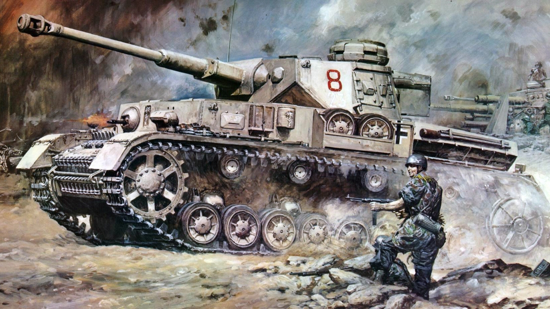 Panzer IV in Action