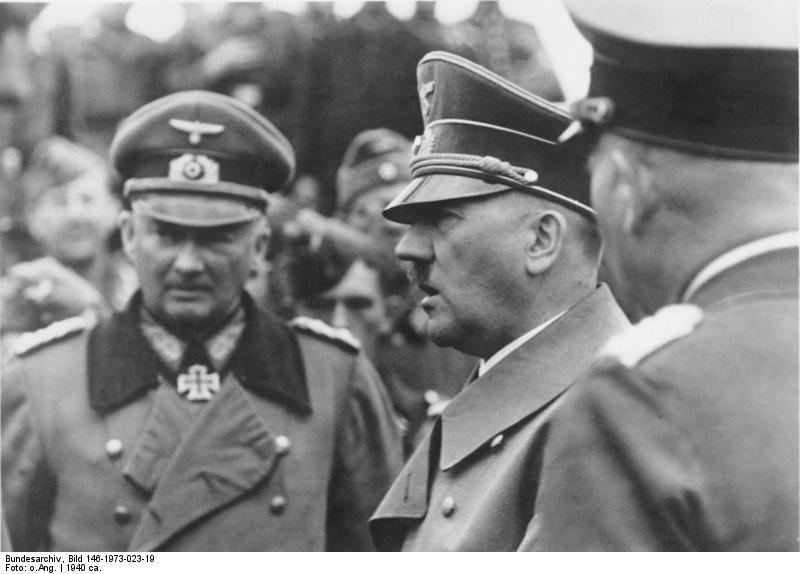 Frankreich, Hans Günther v. Kluge, Adolf Hitler
