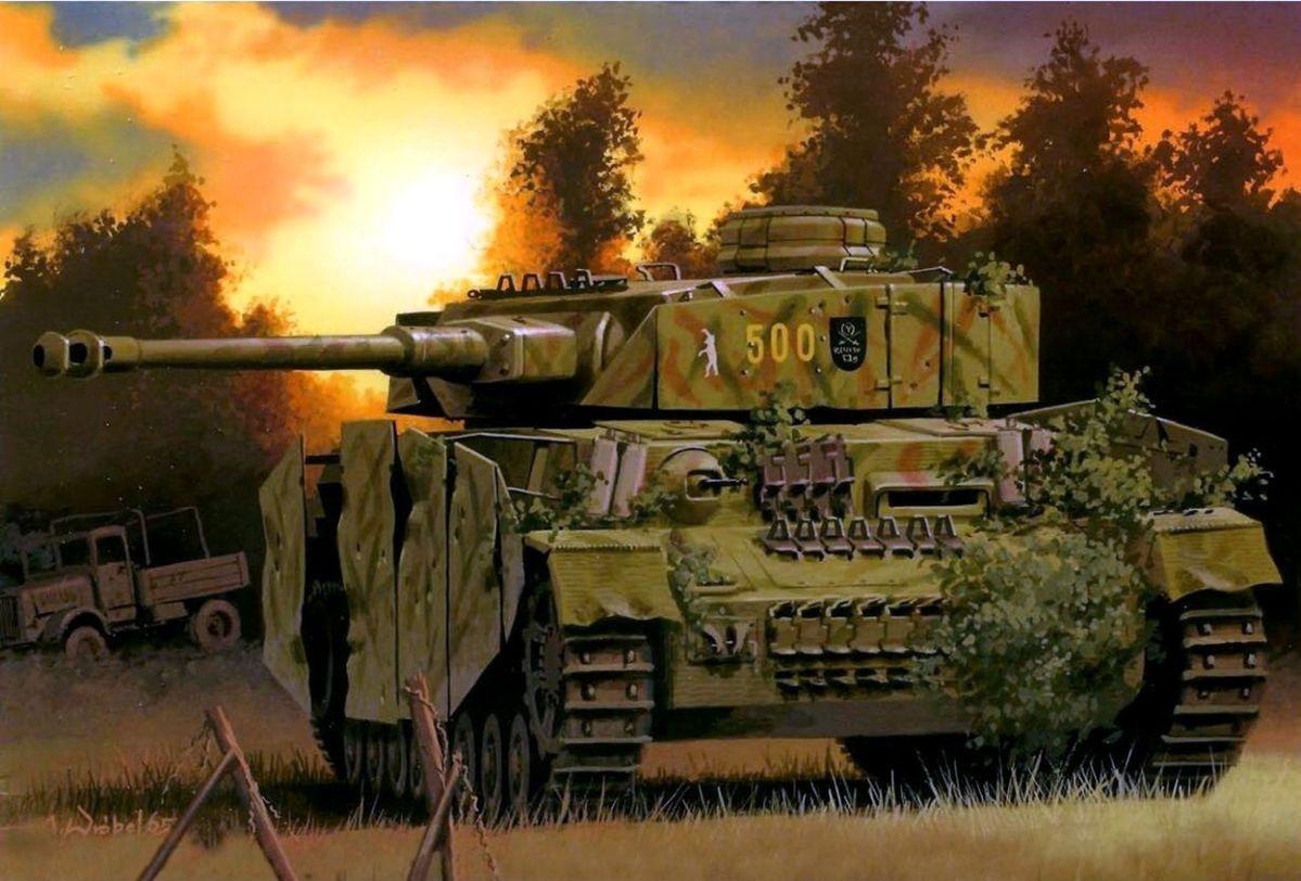 Картинки про танки второй мировой