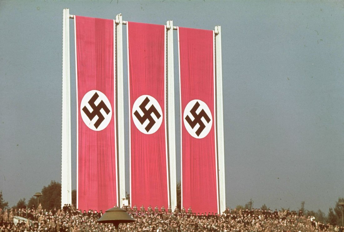 Reich Party Congress, Nuremberg, Germany, 1938.