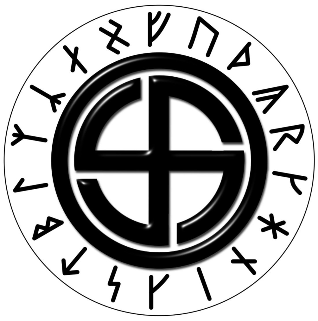 Swastika and Armanen Runes