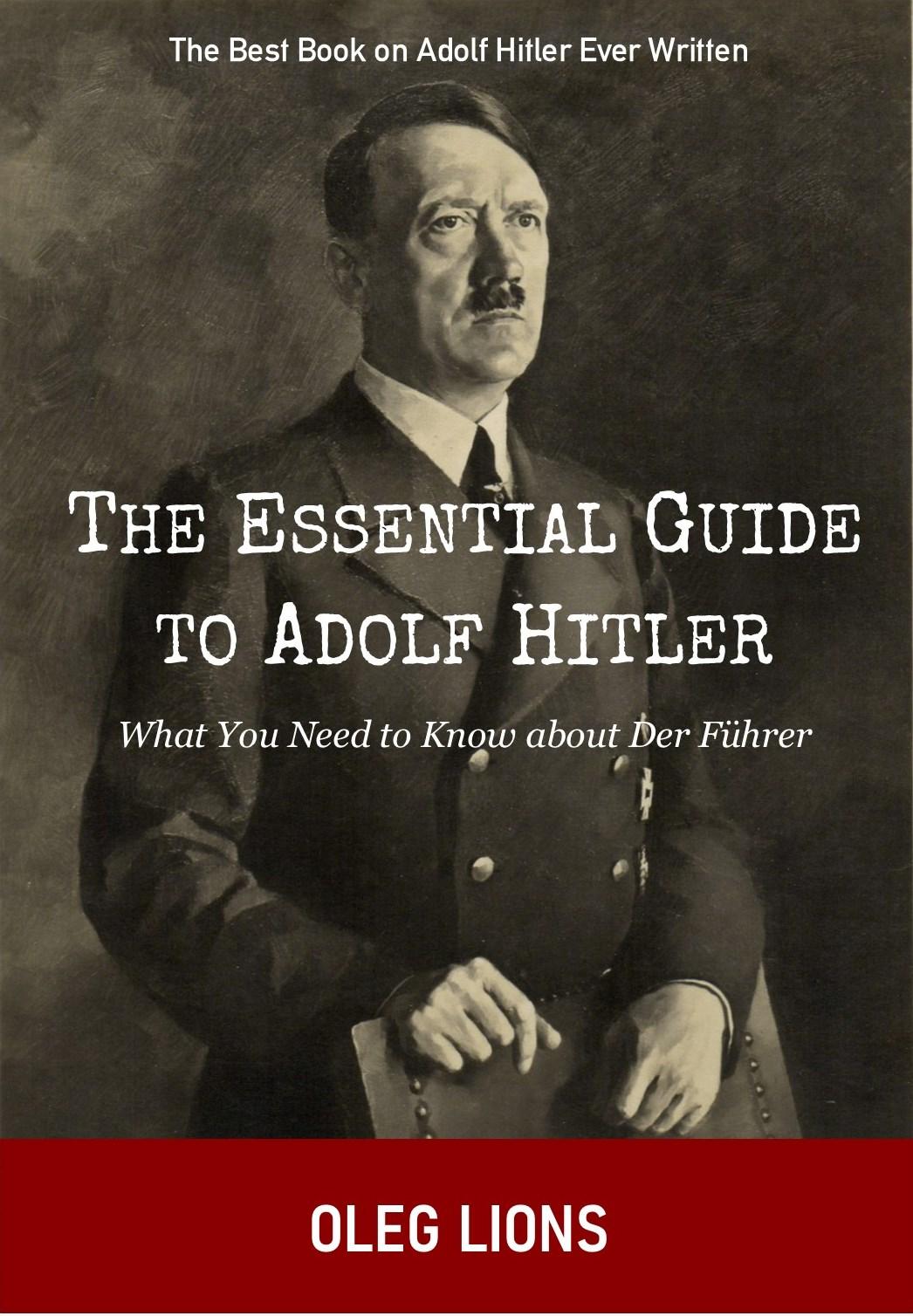 Essential Adolf Hitler Book Cover