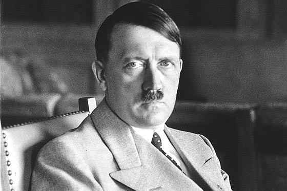 Hitler Sitting