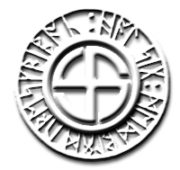 Swastika with Runes