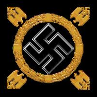 Swastika Wreath small