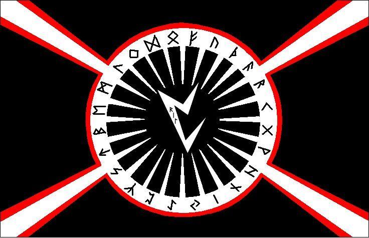 Vril Runes Flag